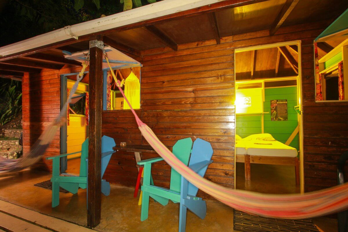 room 3 & 4 by night at Zion Country